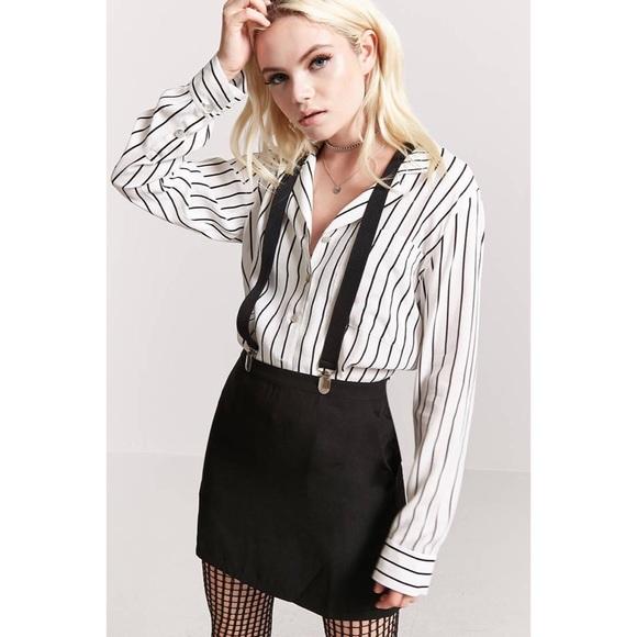 a34ba5ab037e Forever 21 Skirts | Suspender Skirt | Poshmark